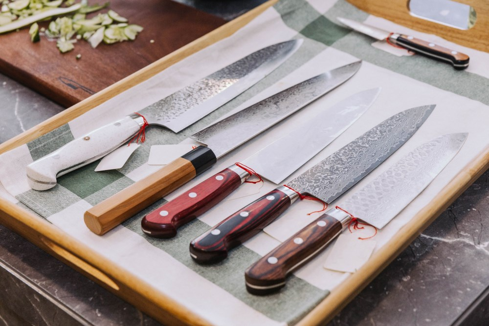 Japanese knives types